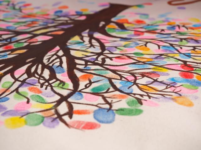 colorful tree picture