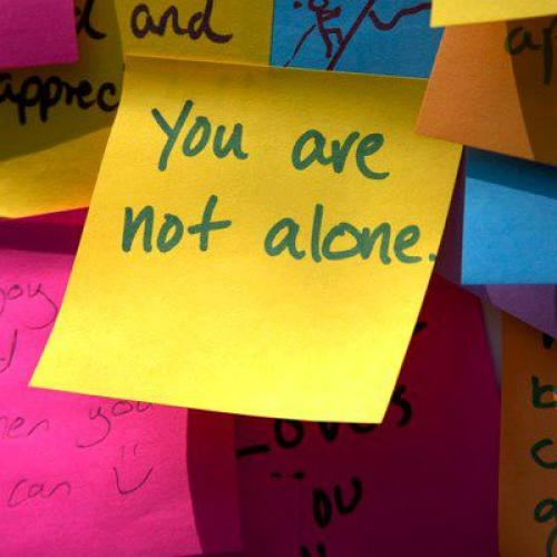 Post it note written by student