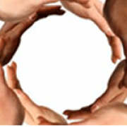 Hands making a circle