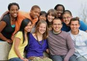 photo of a multicultural group of students